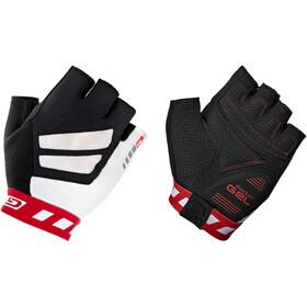 GripGrab WorldCup Gevoerde Halve Vinger Handschoenen, zwart/wit